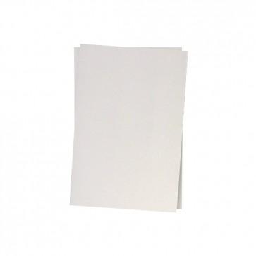 250g Bogen in Weißmetallic