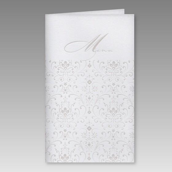 preiswerte men252karte zur konfirmation mit ornamentdruck