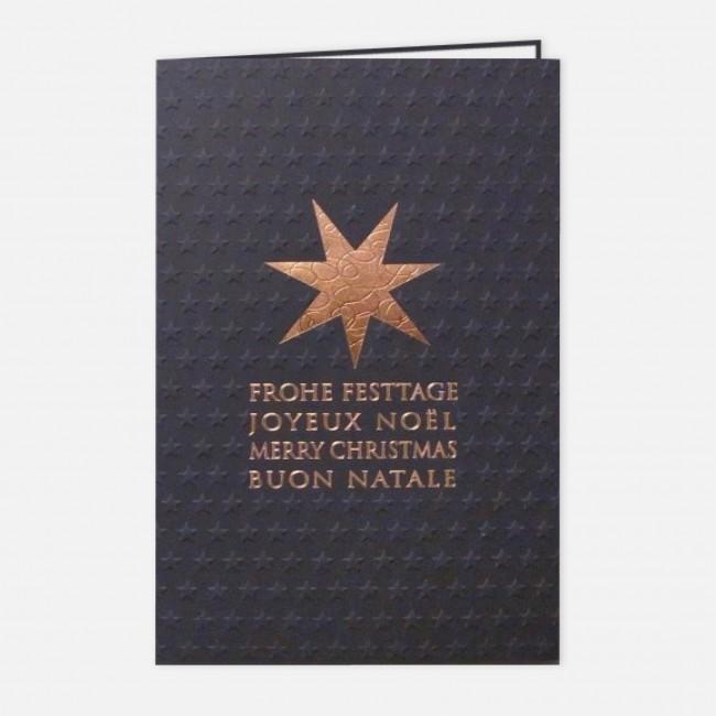 Edle Weihnachtskarten.Edel Rt17025
