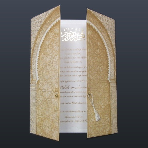 Orientalische Einladung Zur Hochzeit