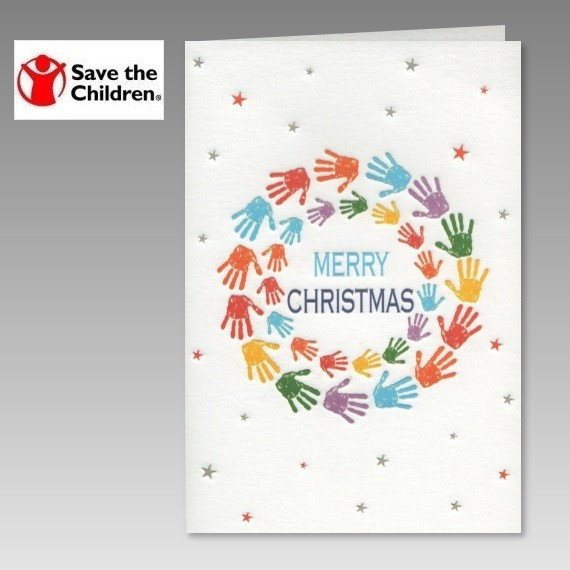 gemeinn tzige spenden weihnachtskarte save the children. Black Bedroom Furniture Sets. Home Design Ideas