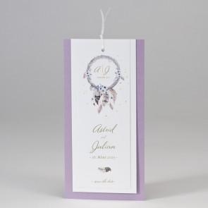 Romantische Hochzeitskarte - 108098