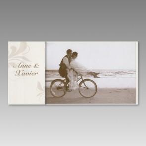 Preiswerte Foto Dankeskarte zur Hochzeit