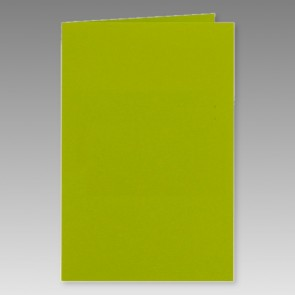 Grüne Klappkarte 11x17