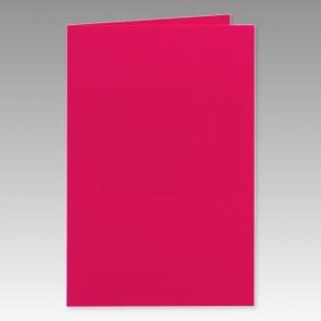 Pinkfarbene Klappkarte 11x17