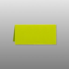 Tischkarte limone-grün