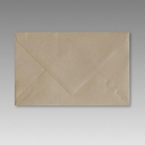 Spitzklappen-Kuvert in goldmetallic