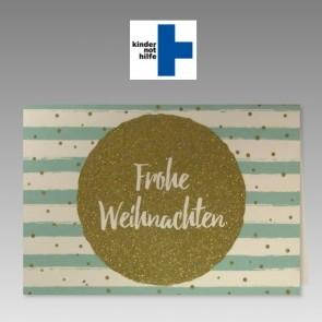 Moderne Spendenkarte für die Kindernothilfe