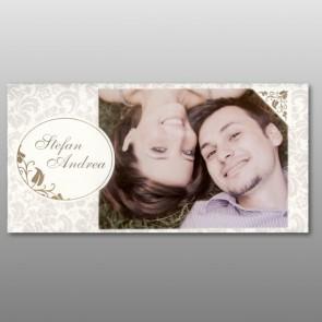Einladungskarte Hochzeit für eigenes Foto