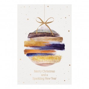 Vorschau Frontansicht Weihnachtskarte