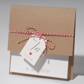 Moderne Einladungskarte Hochzeit - Nr. 651685