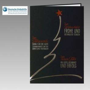 Spendenkarte für Stiftung Deutsche Kinderkrebshilfe: Danke an Geschäftspartner
