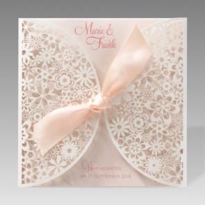 Exklusive Hochzeitseinladung in einzigartigem Design