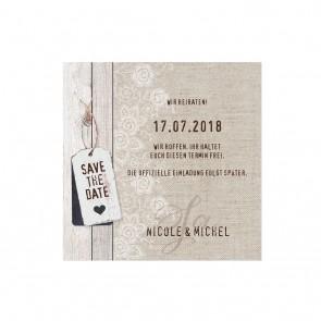 Vorschau Save the date Karte