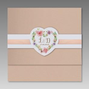 Hochzeit Einladungskarte kreatives Design