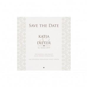 Save the date Karte Vorderansicht