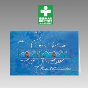 Moderne Spendenkarte German Doctors