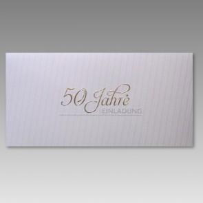 Einladungskarte Goldene Hochzeit mit 50 Jahre