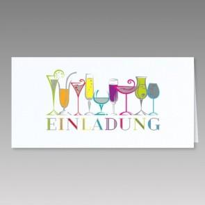 Einladungskarte zu Ihrem Fest