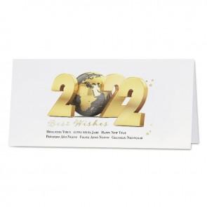 Goldene Weltkugel - 841012