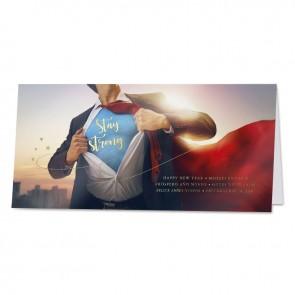Superman im Anzug