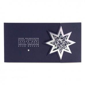 Vorschau Weihnachtskarte, blau
