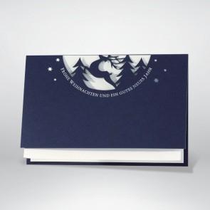 Formgestanzte Weihnachtskarte - 868051