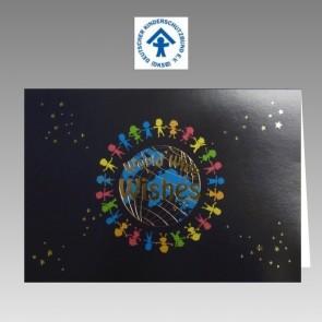 Weihnachtskarte mit Spendenhinweis für DKSB