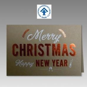 Weihnachtskarte für Deutschen Kinderschutzbund, Spendenanteil