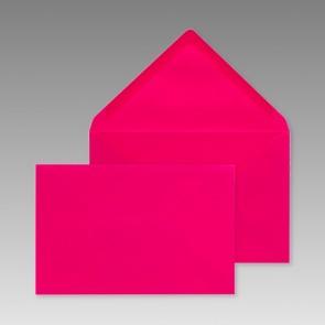 Pinkes Kuvert, rechteckig