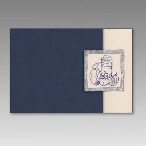 Neutrale Einladungskarte mit bayerischer Brotzeit