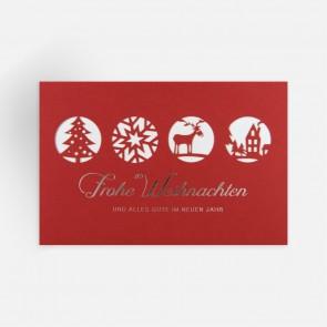 Weihnachtskarte Ansicht vorne