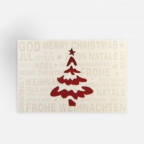 Stilisierter Weihnachtsbaum - FW18014