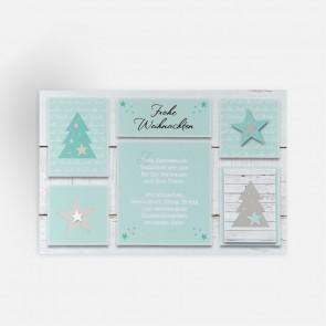 Weihnachtskarte Frontansicht