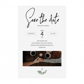Vorschau Save the date Karte