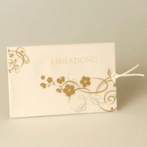 Einladung Blumenranken - A2000