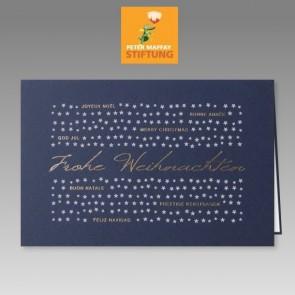 Spendenkarte zu Weihnachten für die Peter Maffay Stiftung