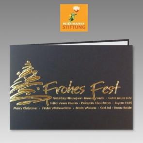 Spendenkarte zu Weihnachten an Peter Maffay Stiftung
