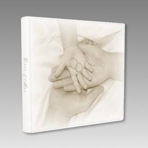 Romantisches Gästebuch zu einer Hochzeit mit Kind