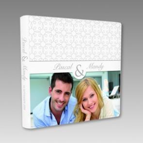 Modernes Gästebuch zur Hochzeit mit Ihrem Foto