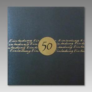Geburtstagseinladung zum 50.