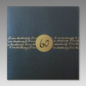 Geburtstagseinladung zum 60.