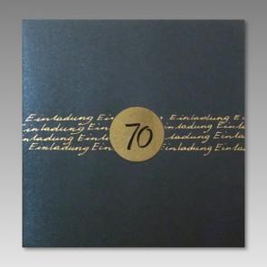 Geburtstagseinladung zum 70.