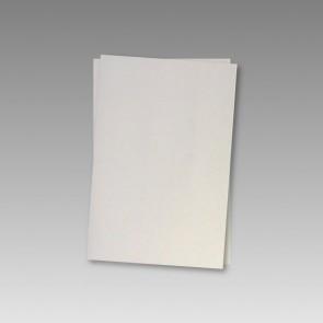 120g Bogen in Weißmetallic