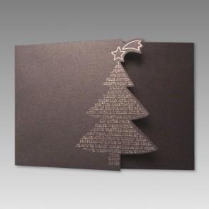 Erstklassige Weihnachtskarte mit herausragendem Design