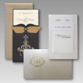 Einladungen Goldene Hochzeit
