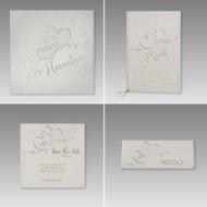 Hochwertige Hochzeitskarten als Set